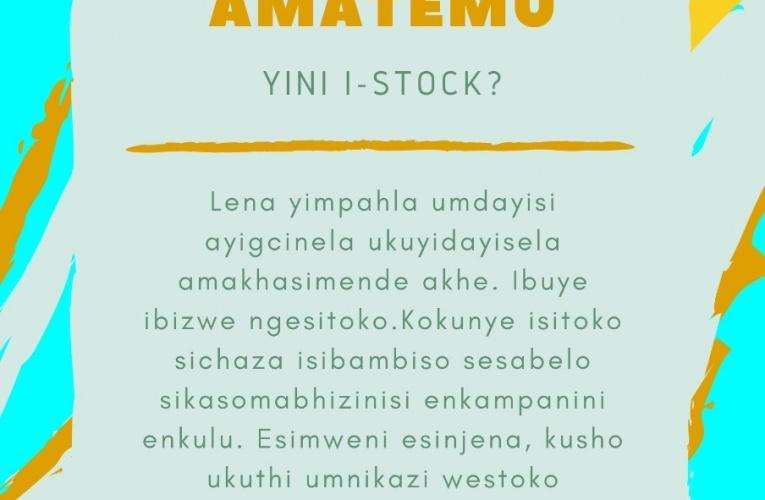 YINI I-STOCK?
